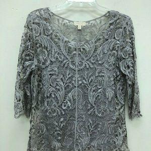 NWOT Beautiful Lace blouse